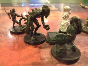 The adventurers of the Shining Scorpion fight to close a Hellspike.