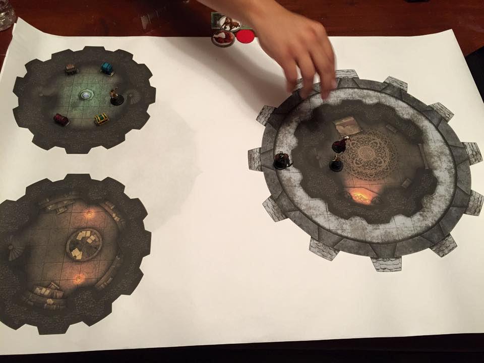 Playing on the The Mage's Tower map from Heroic Maps.